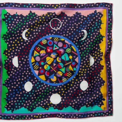 Cosmic Love Scarf Design
