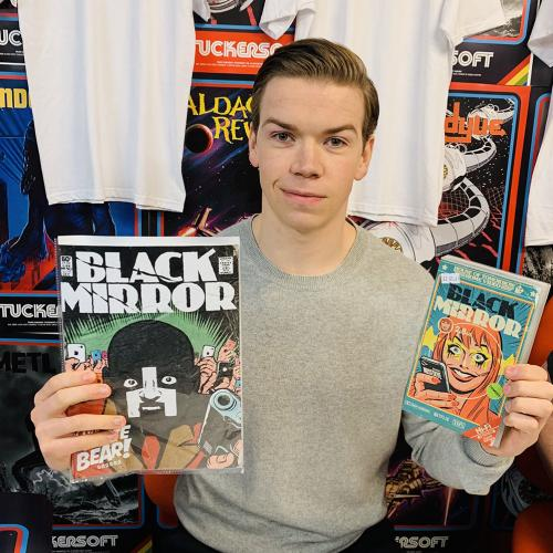 INSIDE OUT: Butcher Billy and the Black Mirror comic