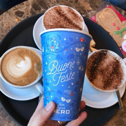 Café Nero Christmas Campaign