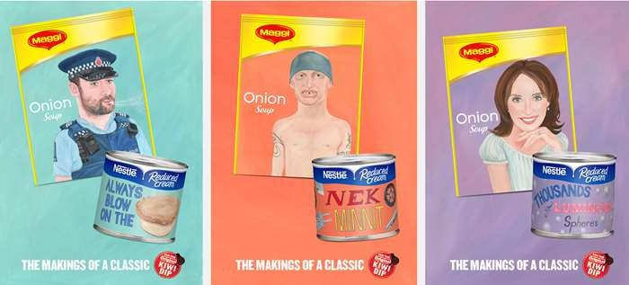 Illustration for nestle ad campaign