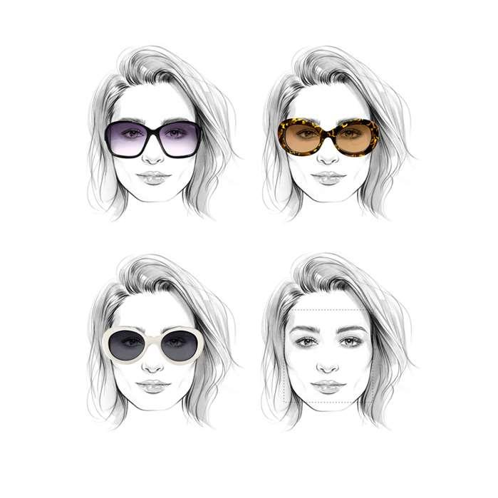 Gorgeous Female Portrait wearing sunglasses