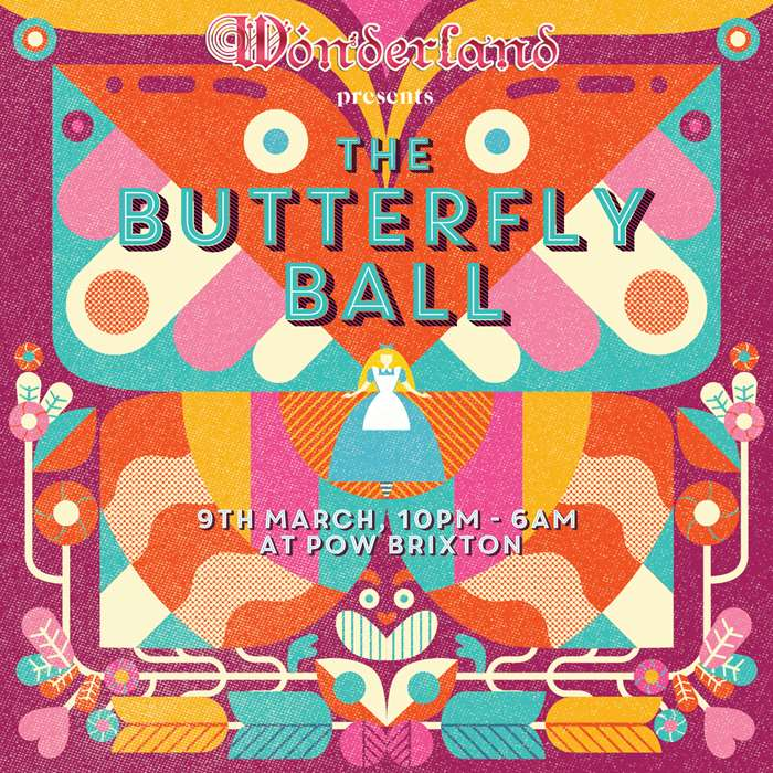 The Butterfly Ball poster cover illustration