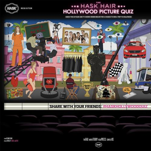 Hask Hair Hollywood Picture Quiz