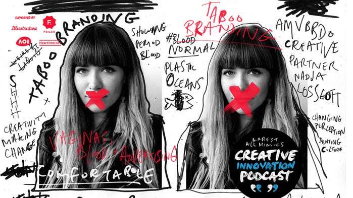 Podcast Arrest All Mimics: image de marque tabou