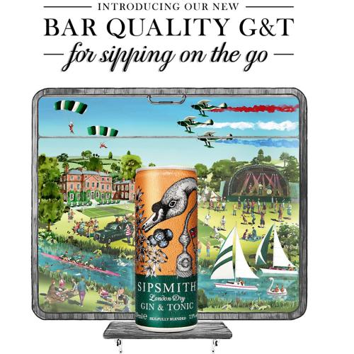 Sip on-the-go with Sipsmith