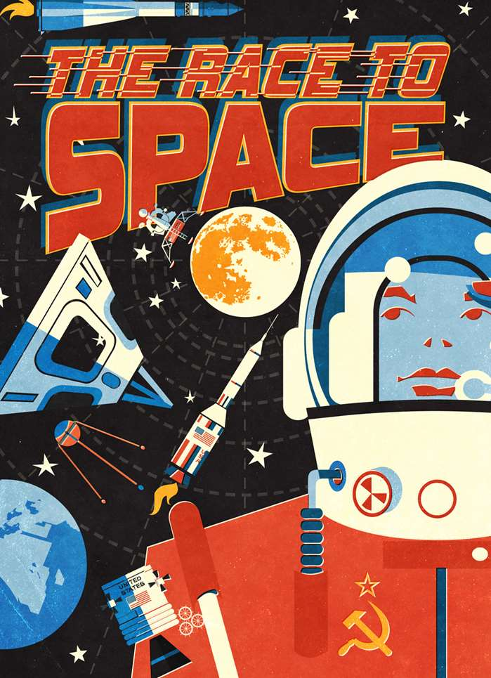 the race to space book cover