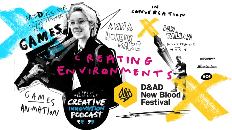 creating environments  podcast cover