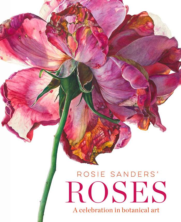 cover page of book - roses
