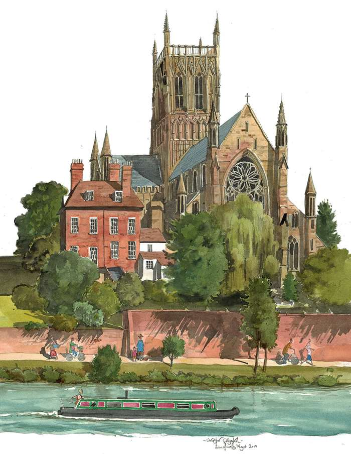worcester cathedral by Liam O'Farrell