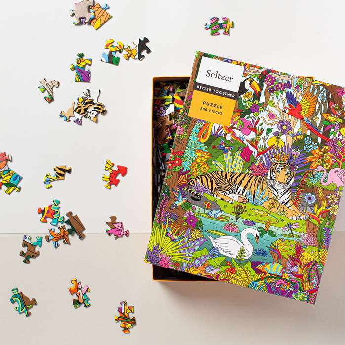 puzzle featuring jungle theme by fionna fernandes