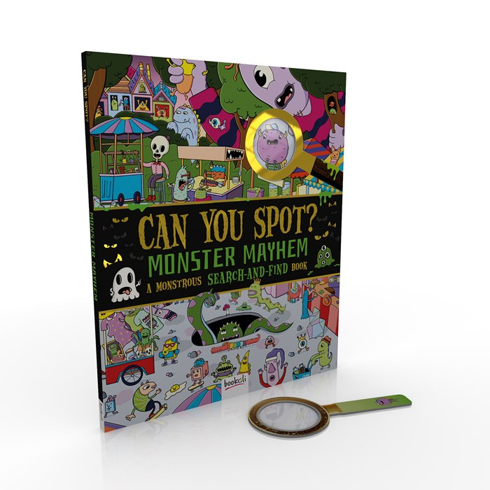 Can you Spot? Monster Mayhem book cover