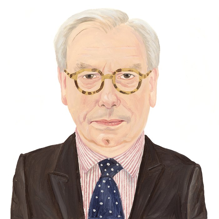David Starkey portrait