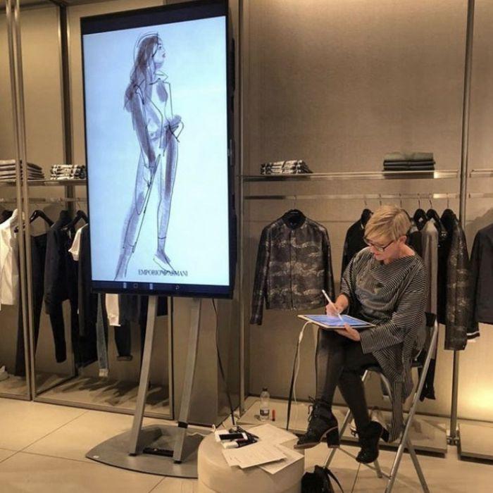 Un viaje a la ilustración de moda