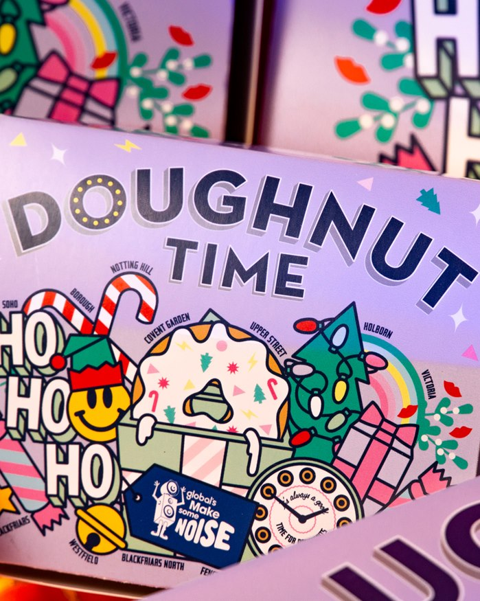 gifs and sticker art for Doughnut Time