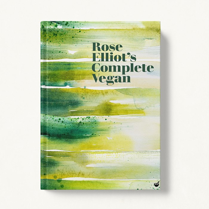 cover of Rose Elliot's new book 'Complete Vegan'