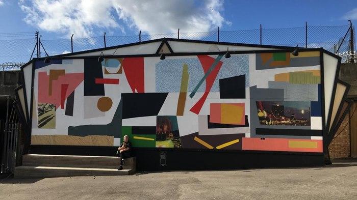 Mural in Mexico City for Casa Hogar Santísima Trinidad