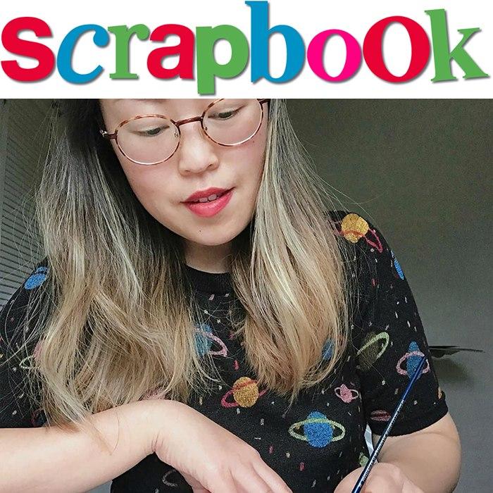 Enya Todd scrapbook artist