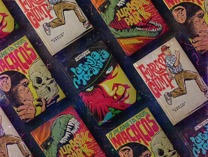 Butcher Billy creates a series of book covers from famous films