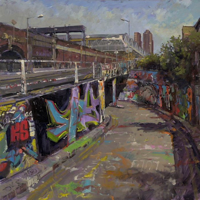 John Walsom's paintings to appear at the ROI Exhibition