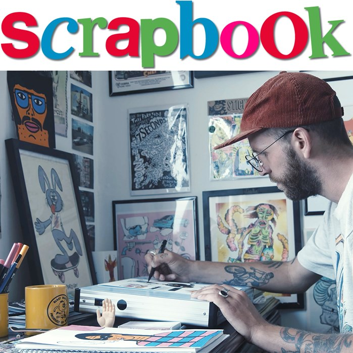 Gabriel Hollington's SCRAPBOOK illustration