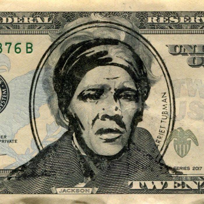 The Harriet Tubman Stamp