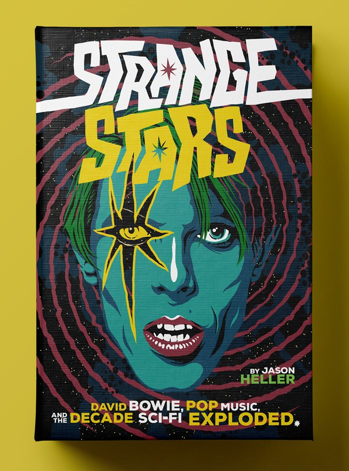Cover art for Jason Heller's 'Strange Stars