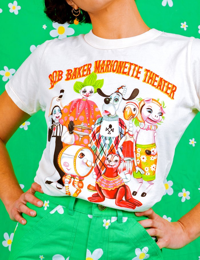 T-Shirt design by Juliette Toma for Big Bud Press