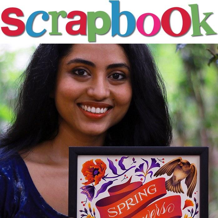 Illustration of Jyotirmayee Patra's SCRAPBOOK