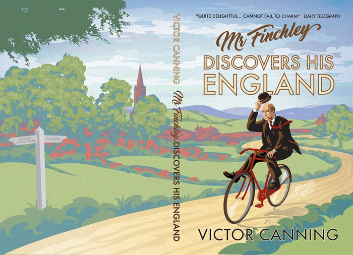 Book cover design for Discovers His England