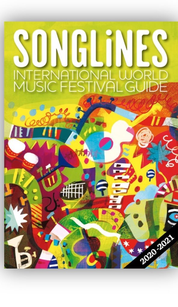 Cover design of The International Festival Guide