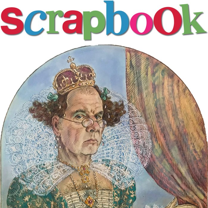 Illustration of John Holder's SCRAPBOOK