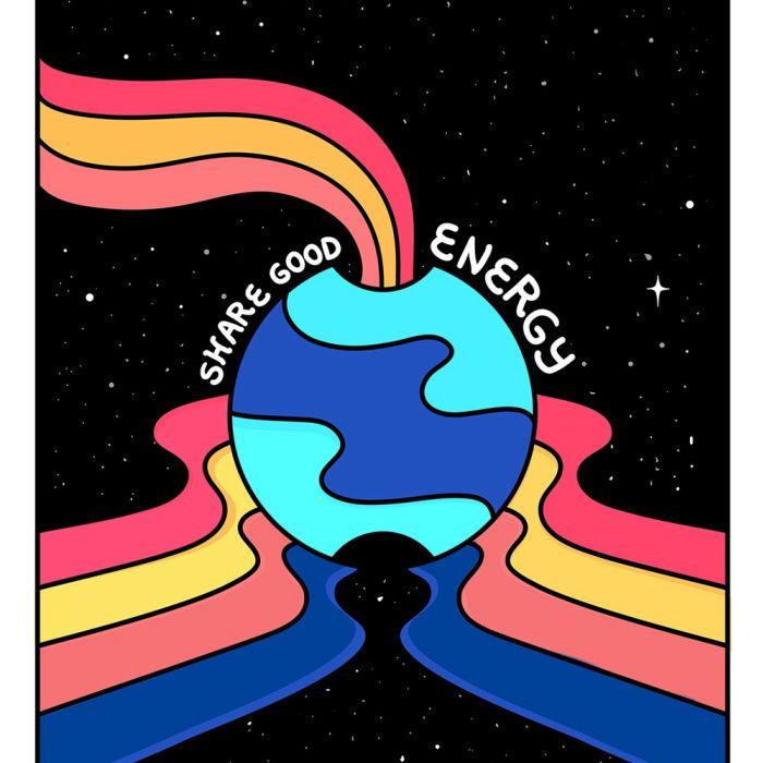 Partager une bonne énergie