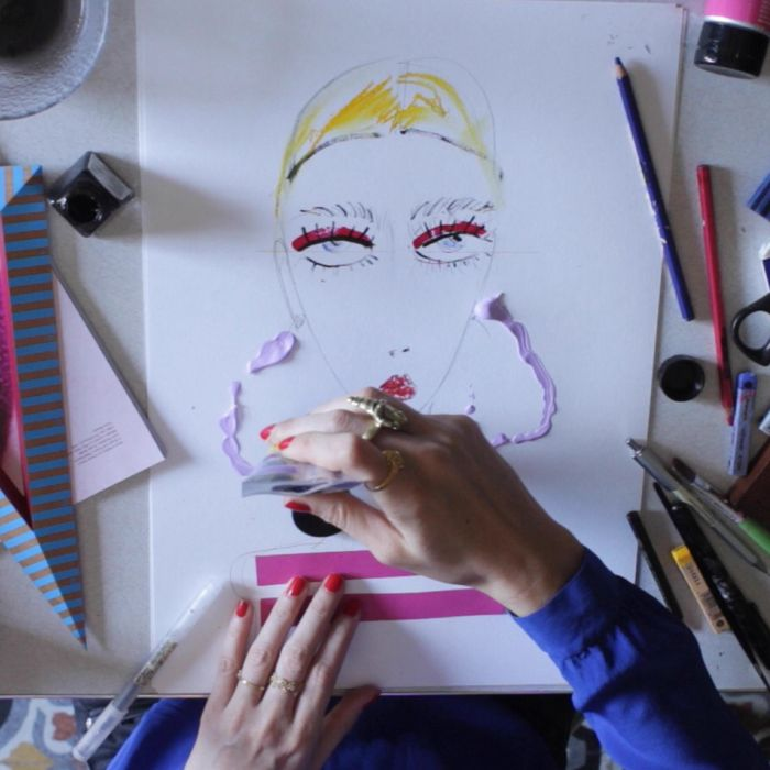 Fashion Illustration at Home