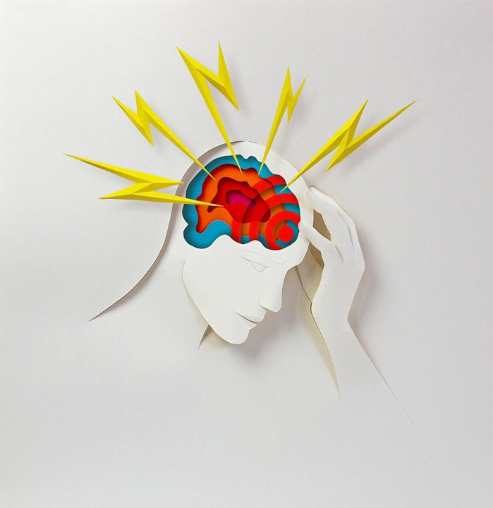 Editorial illustration of What's causing your headache for WIA Long List Awards