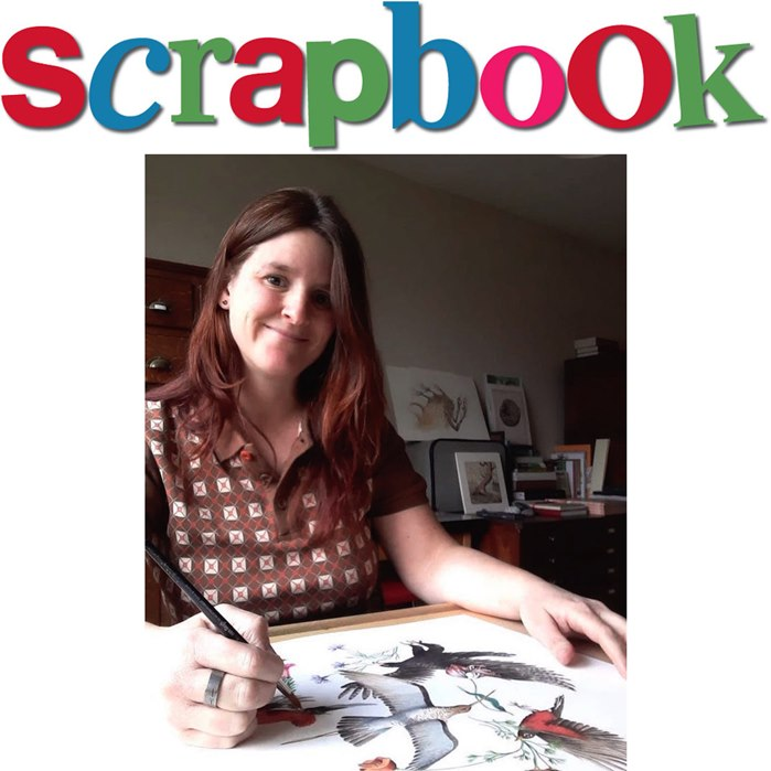 Scrapbook Interview with an Illustrator Marieke Nelissen