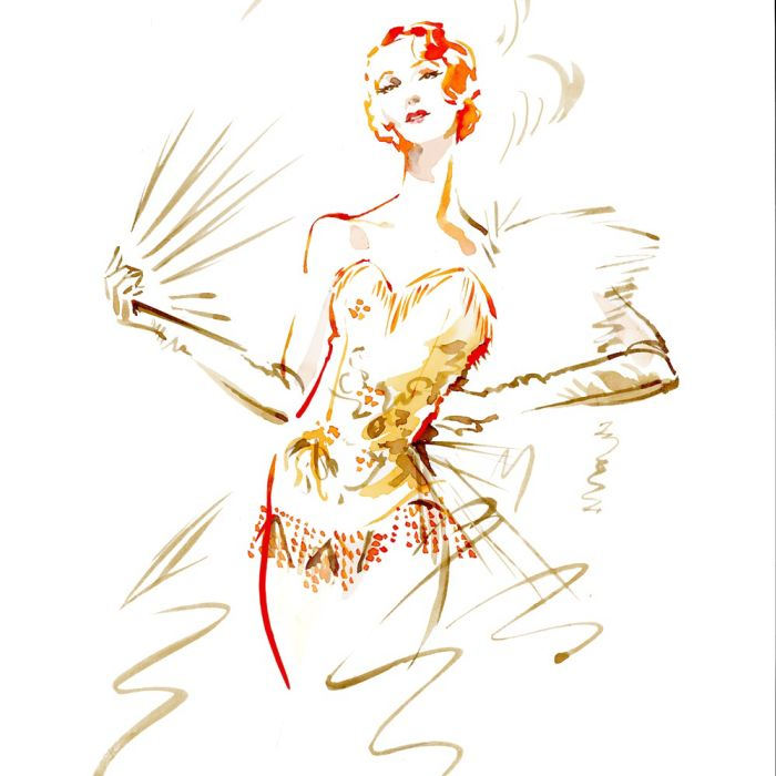 Drawing Dance Cabaret