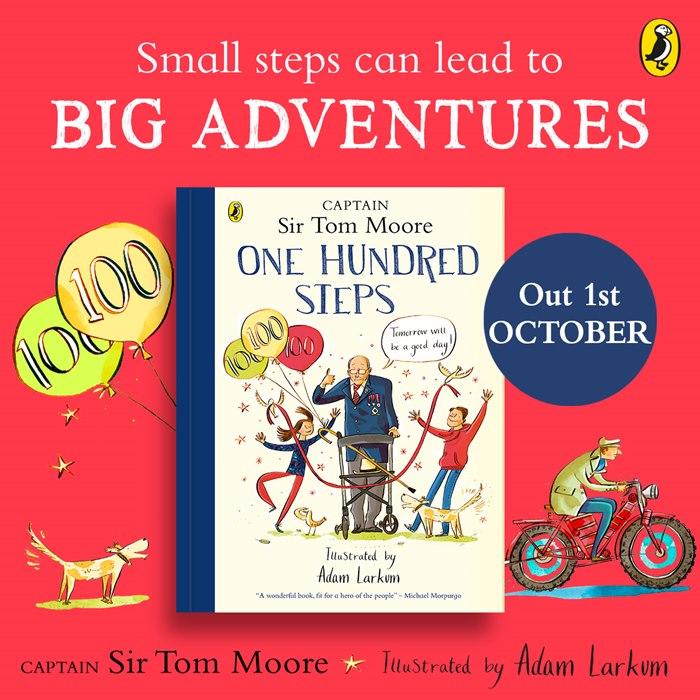 Book Illustration of One Hundred Steps