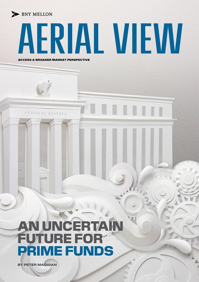 Magazine illustration of Aerial View