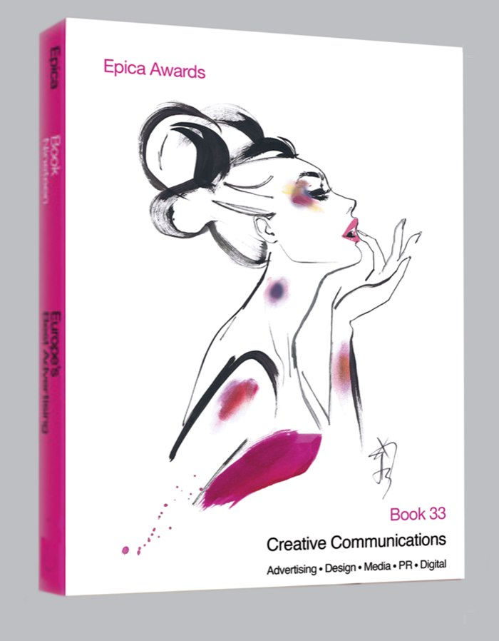 Book cover illustration for Epica awards