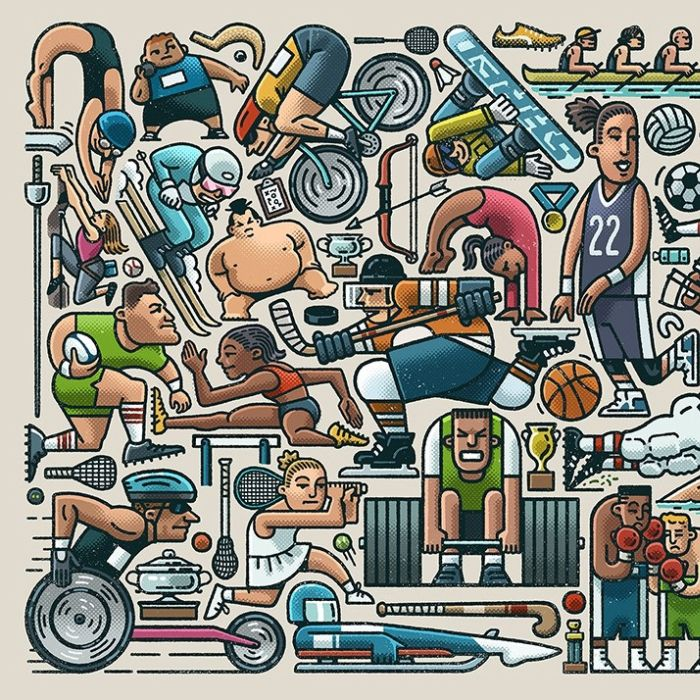 A Jigsaw of Sport