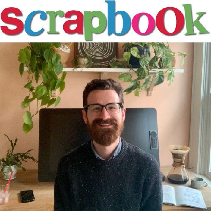 Drew Bardana's SCRAPBOOK!