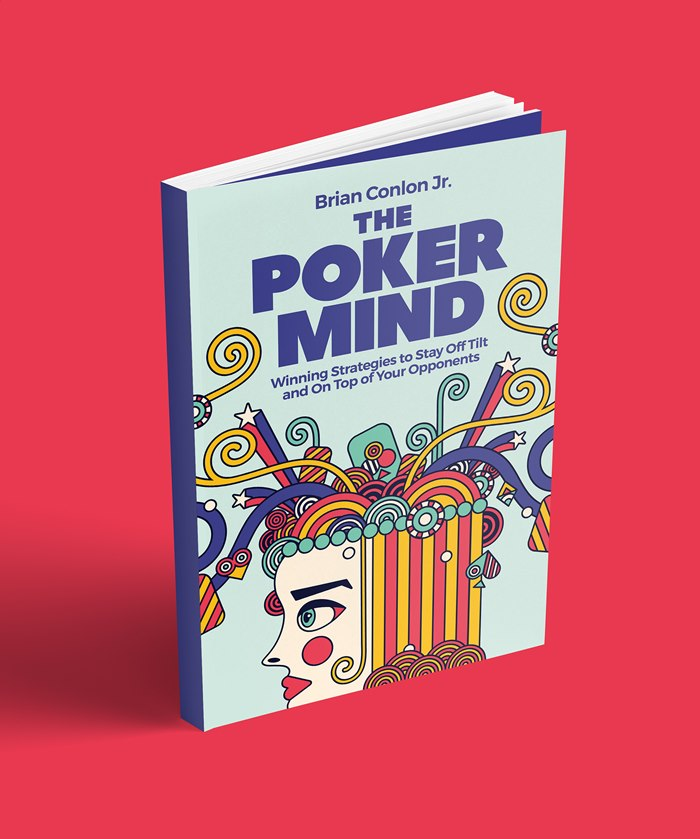 Book cover illustration of The Poker Mind