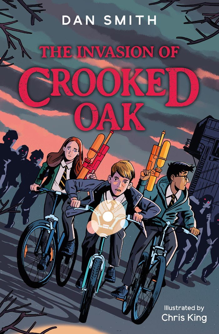 Book Illustration of The Invasion of Crooked Oak