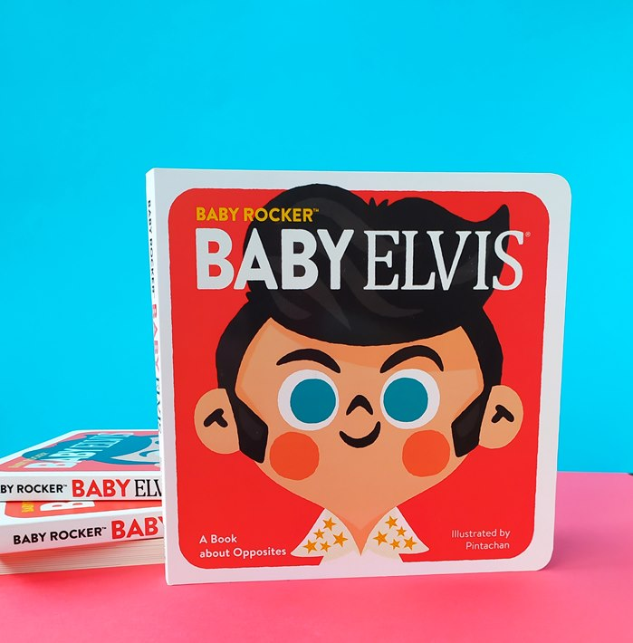 Book cover illustration for Baby Rocker Series