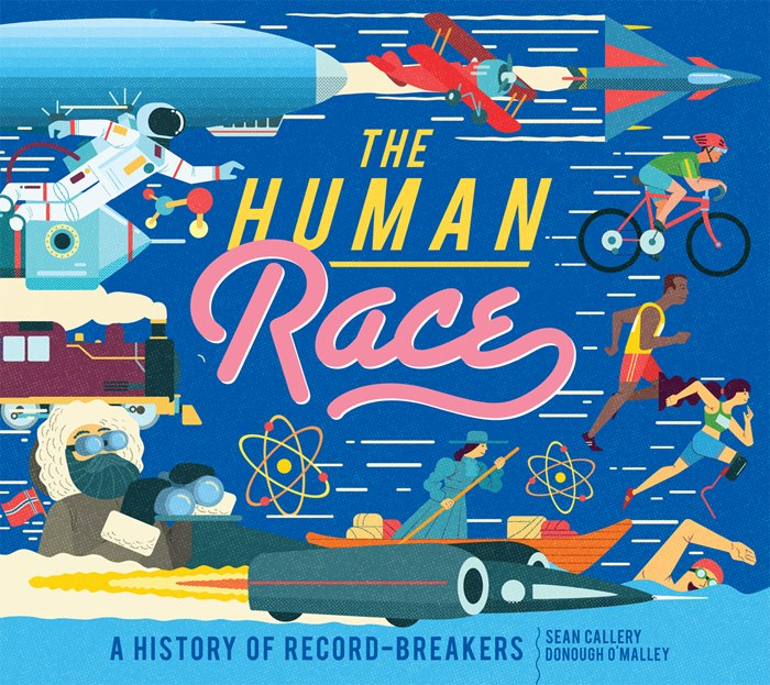 The Human Race book cove illustration