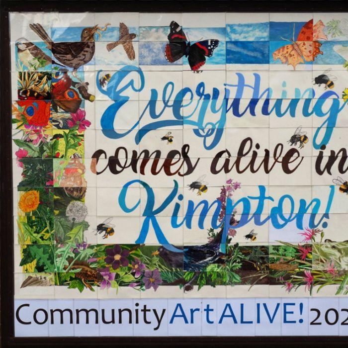 Arte para a comunidade
