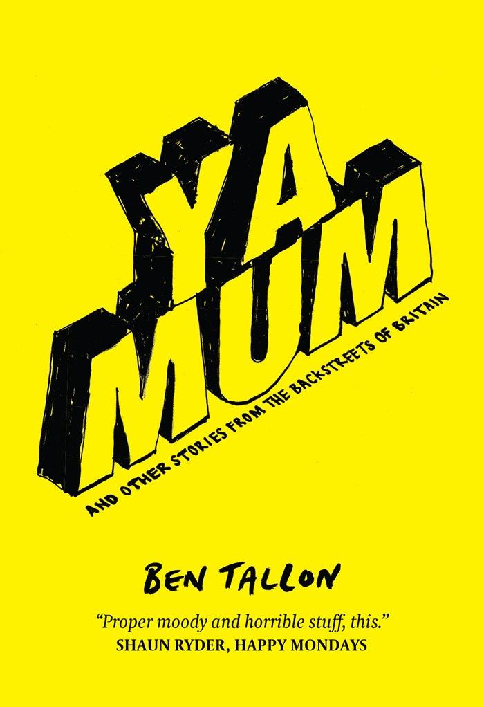 Lettering illustration of ya mum