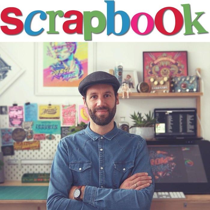 BoomArtwork's SCRAPBOOK illustration