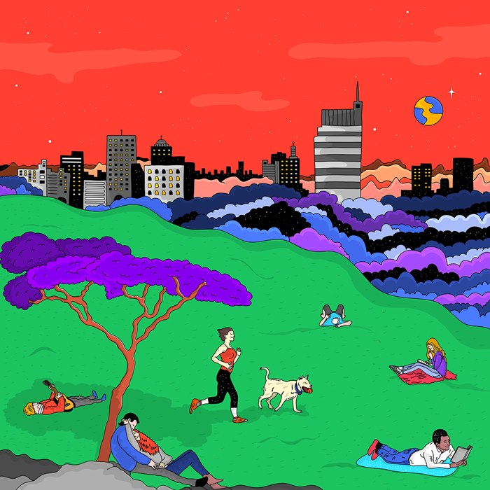 Brazilian Lifestyle illustration