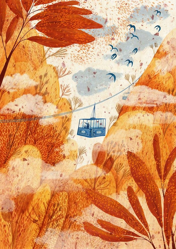 Nature illustration of Sienna Valley